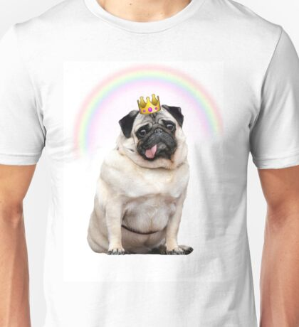 Princess Pug  Unisex T-Shirt