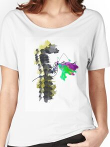 Butterfly in hand Women's Relaxed Fit T-Shirt