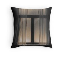 'Time, Emptiness II' Throw Pillow