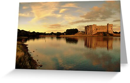 Carew Castle and Bridge by spottydog06