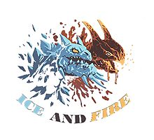 Ice and Fire by Bonvi