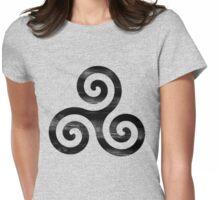 Derek Hale tatt Womens Fitted T-Shirt