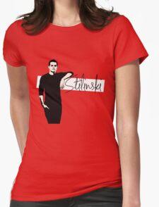 Team Human: Stilinski Womens Fitted T-Shirt
