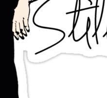 Team Human: Stilinski Sticker