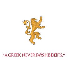 A Greek Never Pays His Debts by Altarosk