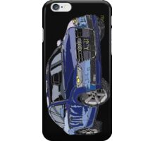 Audi A4 Pen and Ink Sketch iPhone Case/Skin