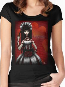 Be my Valentine...Shirt Women's Fitted Scoop T-Shirt