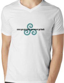once you go pack, you never go back (2) Mens V-Neck T-Shirt