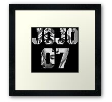 Johnny Joestar Framed Print