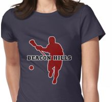 Beacon Hills High - Lacrosse Womens Fitted T-Shirt