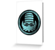 Hail Helix 2.0 Greeting Card
