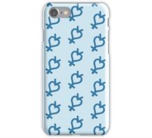 Shine Aqua Illusion! iPhone Case/Skin