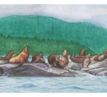 Lions Of Haida Gwaii Sticker