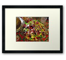 Traditional Trifle  Framed Print