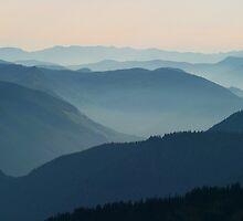 Blue Mountains by Olga Zvereva