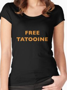 Free Tatooine Women's Fitted Scoop T-Shirt