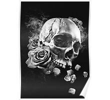 SKULL & ROSES III Poster