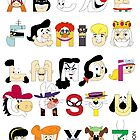 Child of the 60s Alphabet by Mike Boon
