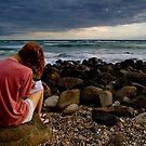 Dawn Scribbler by Ken Wright