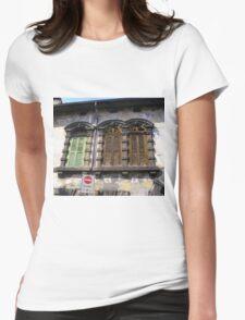 Verona - Shuttered Windows Womens Fitted T-Shirt
