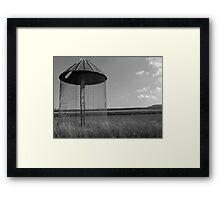 Corn Silo Framed Print