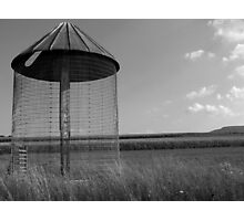 Corn Silo Photographic Print
