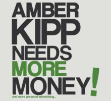 Amber Kipp Needs More! [Lime Green] by Amber Kipp