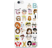 Child of the 00s Alphabet iPhone Case/Skin