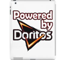 Powered by doritoes iPad Case/Skin
