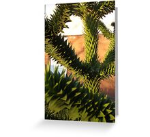 Abstract Plant Greeting Card