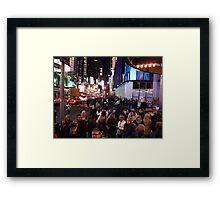 48th&Broadway Framed Print