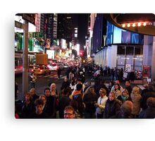 48th&Broadway Canvas Print