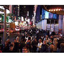 48th&Broadway Photographic Print