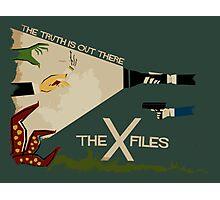The X-files Photographic Print