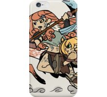 Sisters till the end iPhone Case/Skin