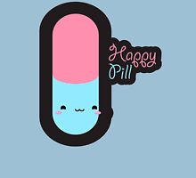 Happy Pill Womens Fitted T-Shirt