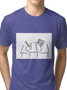 proofreader assistant correct Tri-blend T-Shirt