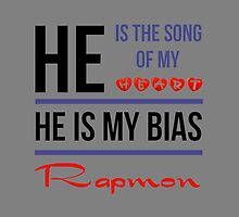 HE IS MY BIAS Rapmon - Grey by Kpop Love