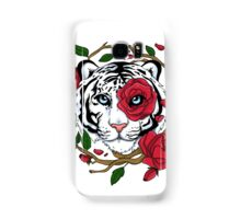 White Tiger Samsung Galaxy Case/Skin