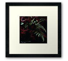 Urban Fern Jungle Framed Print