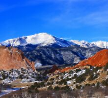 Garden of the Gods by Beverly Lussier