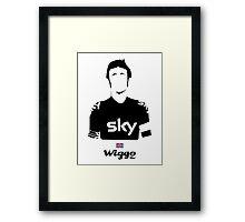 Wiggo - Bici* Legendz Collection  Framed Print