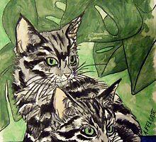 Tabby Kittens by Alexandra Felgate