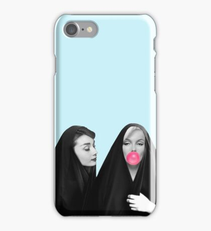 Audrey & Marliyn iPhone Case/Skin