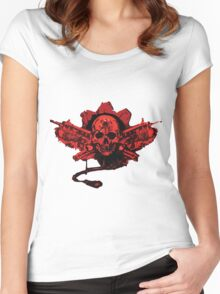 Gears of War Women's Fitted Scoop T-Shirt