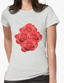 A Few Roses For the One I love Tee Womens Fitted T-Shirt