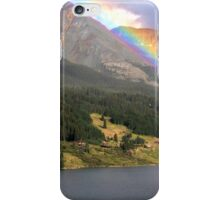 Trout Lake, Co - Over The Rainbow iPhone Case/Skin