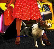 Prowler Walkin Miss Mousy in Paris Texas by ChasSinklier