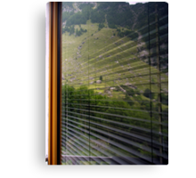 A world in a window Canvas Print