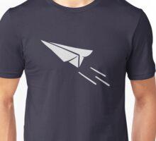 Paper plane Unisex T-Shirt